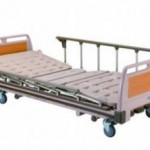 Manual Hospital Bed (3-Cranks)